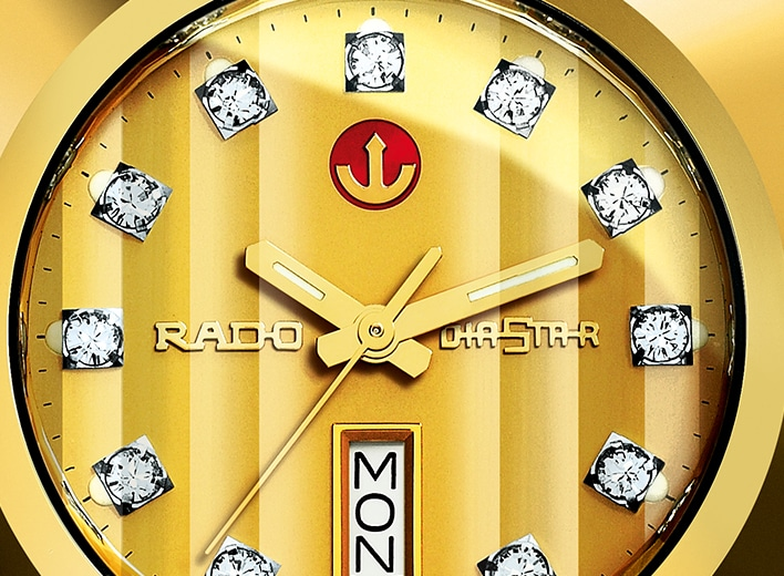 Gold-tone watches